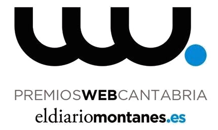 Nuevamente en los Premios Web de El Diario Montañés